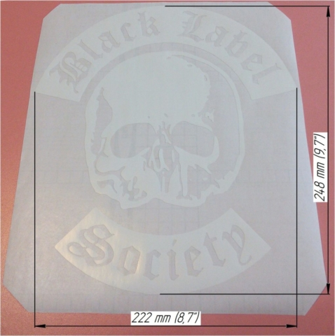 Zakk-Wylde stickers replica