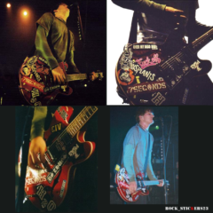 Box Car Racer stickers guitar decal tom DeLonge