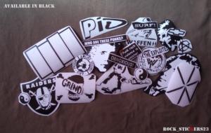 Jeff Hanneman black decal