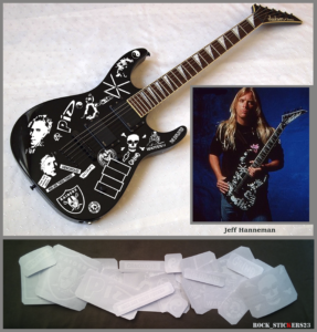 guitar signature Jeff Hanneman