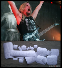 Jeff Hanneman raiders guitar