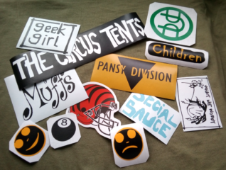 punk stickers green day
