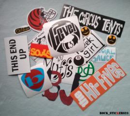 BJ stickers 1996 Version