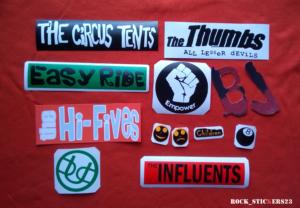 Billie Joe stickers 2002