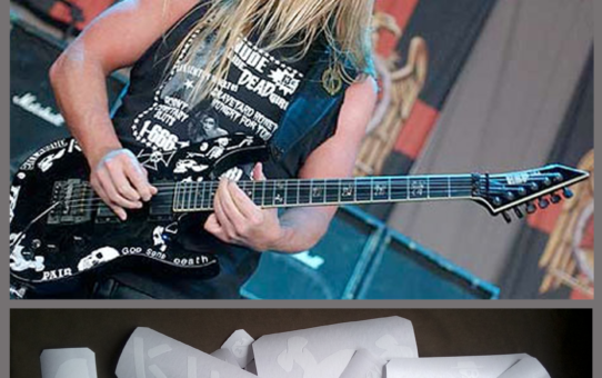 jeff hanneman guitar KILL