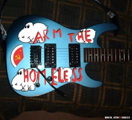 kramer guitar arm the homeless