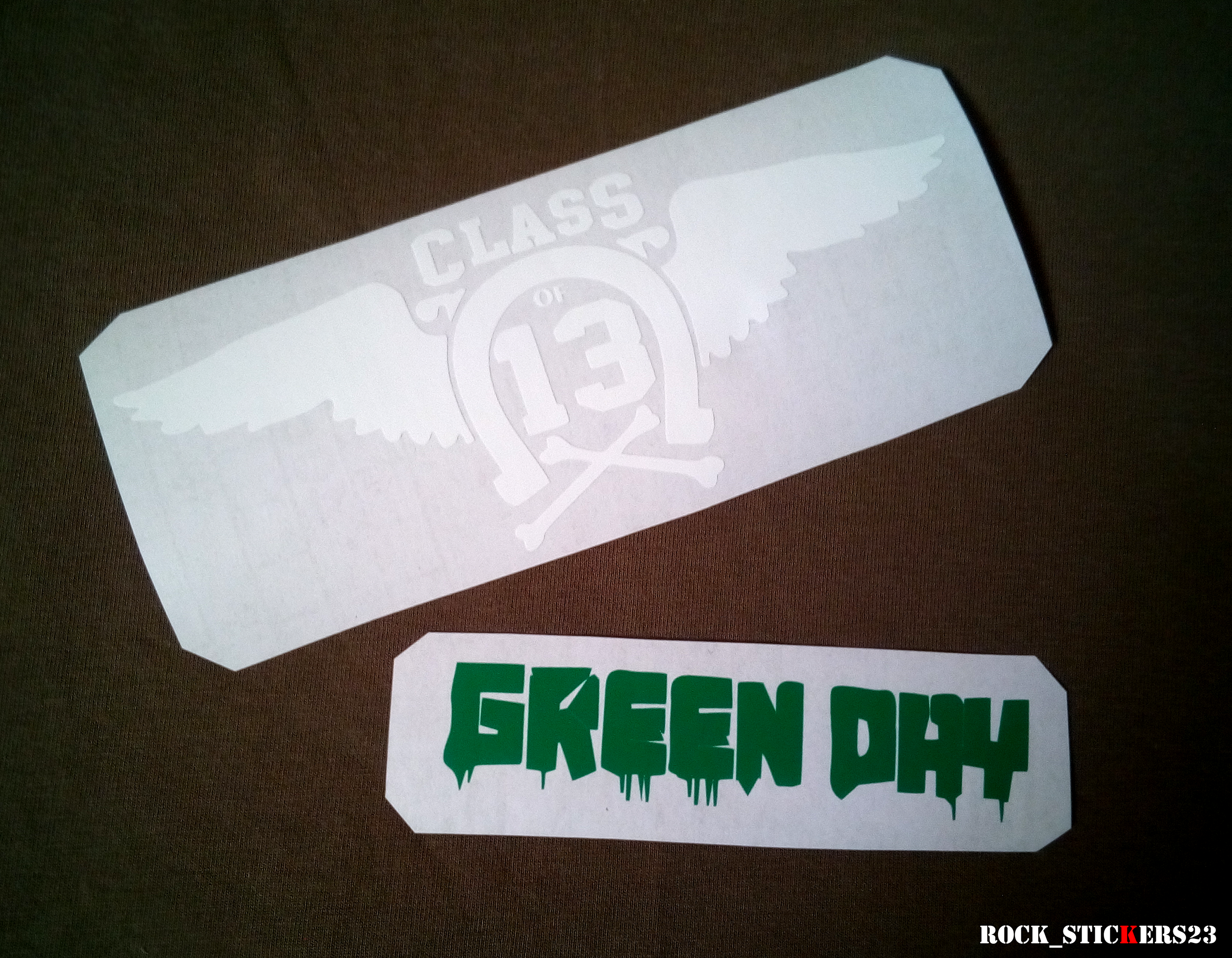 green day class 13 guitar