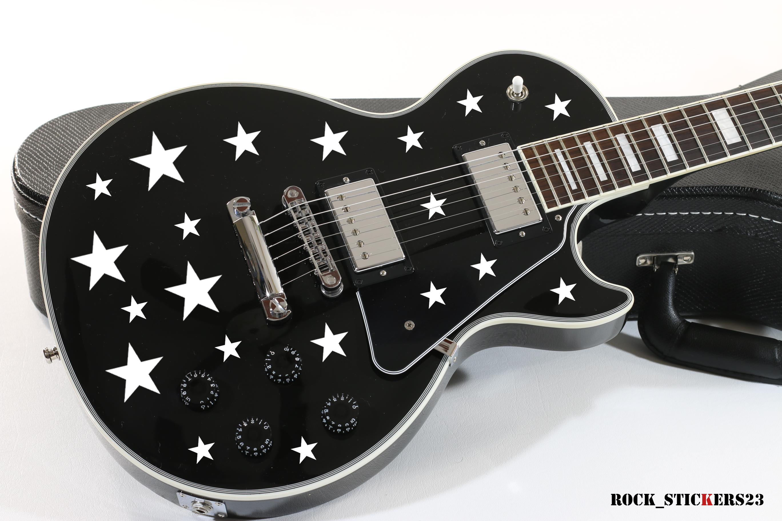 Stickers Stars Vinyl Stylish For All Types Of Guitars Set