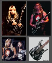 jeff slayer guitar decal