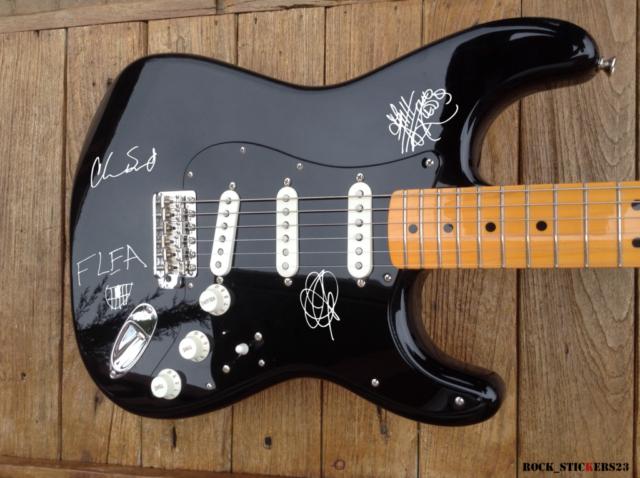 john frusciante autograph
