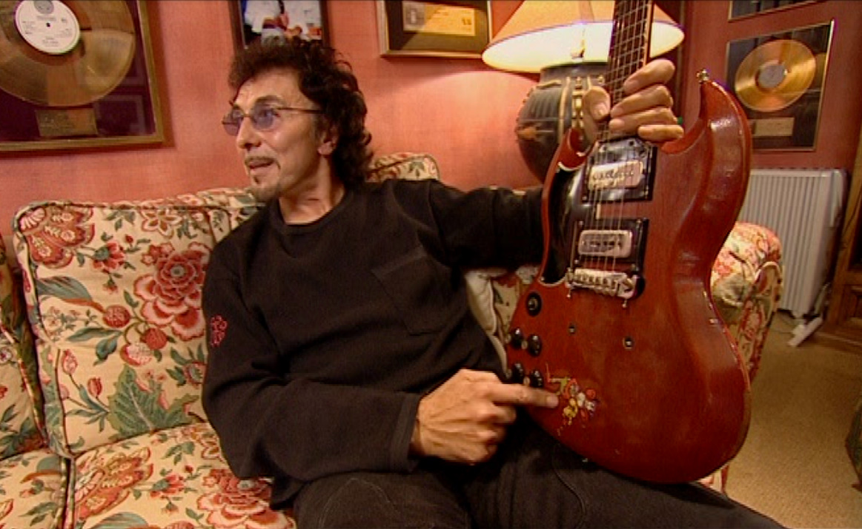 Tony Iommi Stickers Decal Gibson Sg Monkey Custom Replica