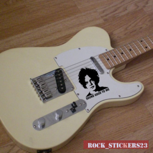 JACK WHITE stickers guitar decal