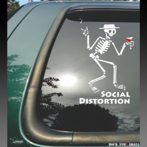 Social Distortion decals stickers