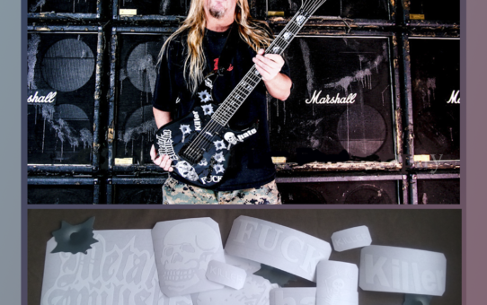 jeff hanneman guitar replica