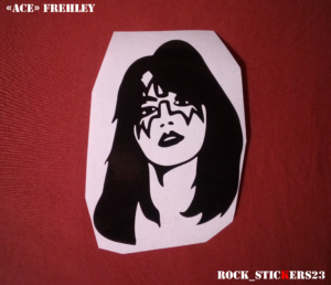 Ace Frehley decal stickers