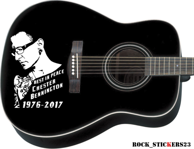 Chester Bennington stickers decal LP