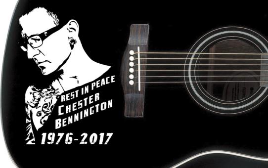 Chester Bennington stickers