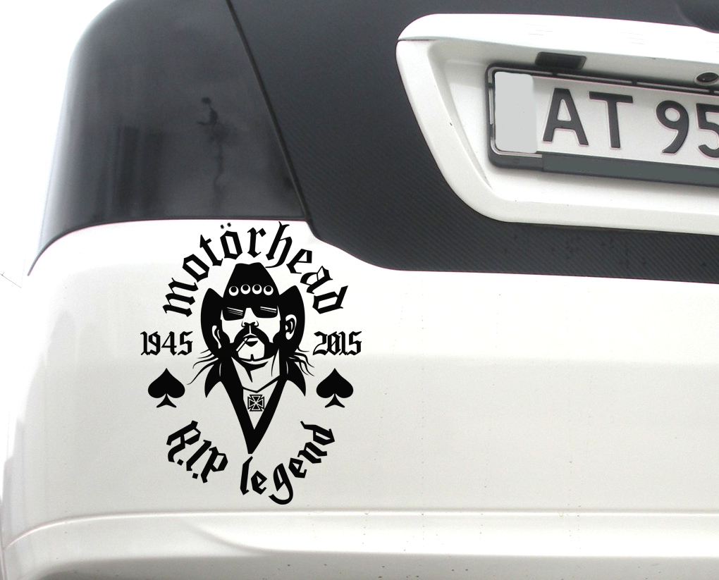 lemmy kilmister sticker decal