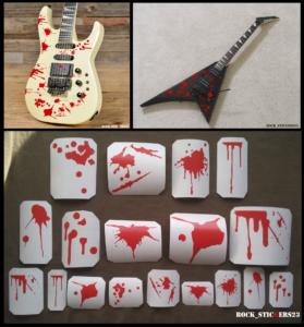 blood guitar metal