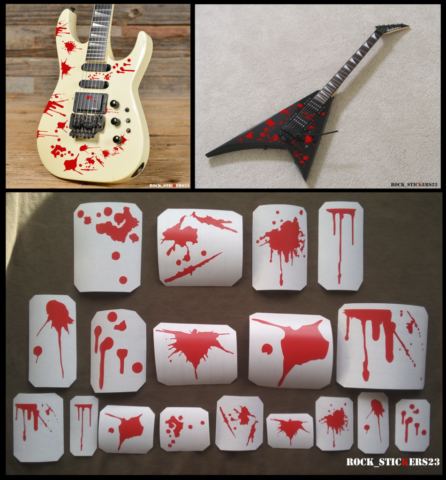 blood guitar metal