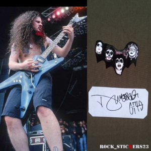 KISS pantera stickers