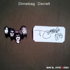 Dimebag Darrell rockstickers