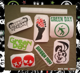 green day stickers decal