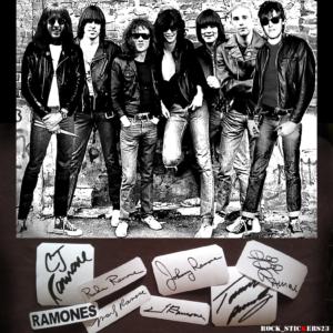 Marky Ramone, Johnny Ramone, Tommy Ramone, Joey Ramone, Dee Dee Ramone, C.J. Ramone, Richie Ramon