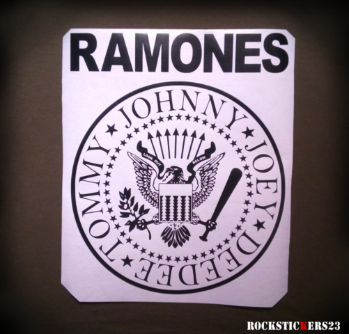 ramones stickers decal