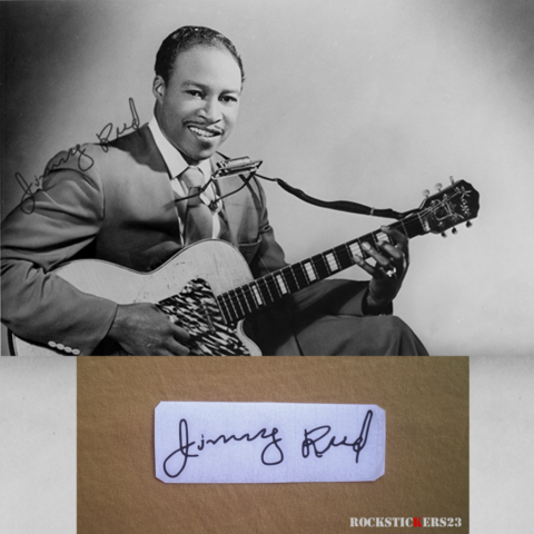 jimmy Reed autograph