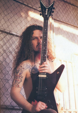 Darrell pantera band metal Washburn