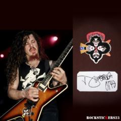 Dimebag Darrell Dean ML FBD guitar decal stickers