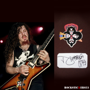 Dimebag Darrell Dean ML FBD guitar decal stickers