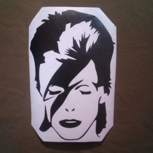 David Bowie stickers