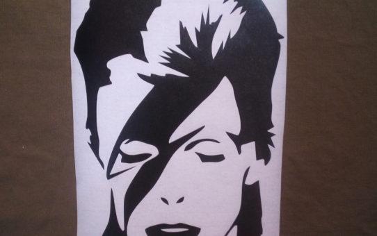 David Bowie stickers