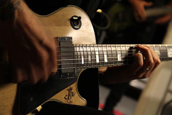 Gibson-Les-Paul burton replica James Hetfield metallica