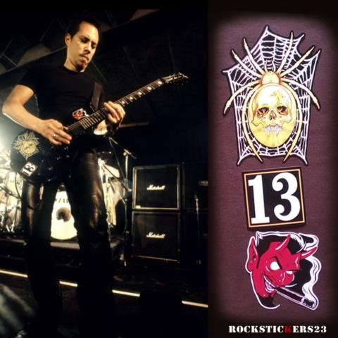 "Kirk Hammett replica Spider & ""13"" guitar"