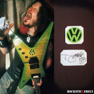 Volkswagen Dime Slime dimebag darrell sticker decal