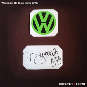 Volkswagen Dime Slime dimebag darrell sticker decal