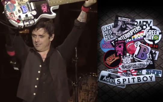 Billie Joe stickers 2017