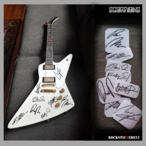 scorpions guitar