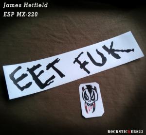metal eet fuk Justice era James Hetfield
