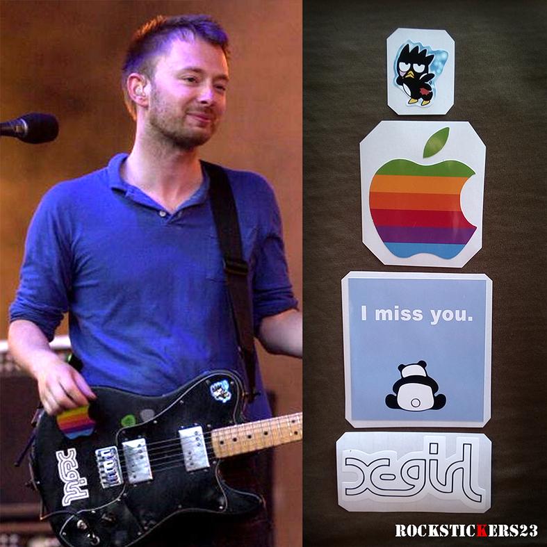 Telecaster Deluxe radiohead Thom Yorke